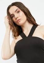 Missguided - Front strap detail bodysuit