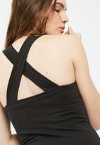 Missguided - Front strap detail bodysuit