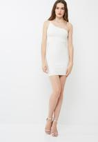 Missguided - One shoulder bandage mini dress
