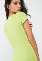 Missguided - Short sleeve bodycon midi dress