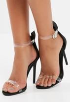 Missguided - Bunny ear strappy sandals