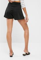 dailyfriday - Tie front knit shorts