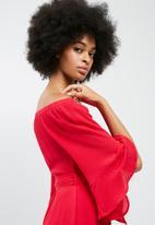 dailyfriday - Off the shoulder short dress