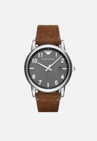Armani - Luigi-brown leather
