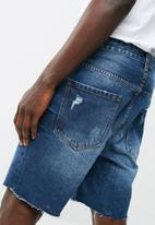 basicthread - Diago regular denim shorts
