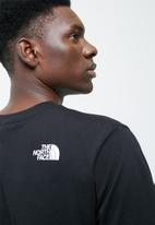 The North Face - M S/S simple dome tee - Black