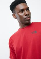The North Face - Red box tee S/S - Fiery red