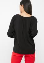 dailyfriday - Mandarin collar blouse