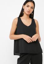 dailyfriday - V neck woven blouse