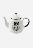 Sugar & Vice - Bohemian cat tea pot