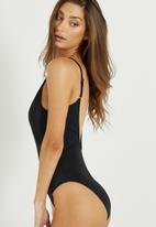 4f8395d872 Phoenix thin strap one piece bikini - Black Cotton On Swimwear ...