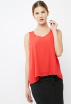 dailyfriday - V neck woven blouse
