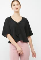dailyfriday - Knot front blouse
