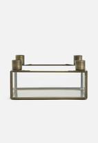 Sarah Jane - Gold candle holder box