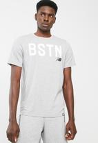 New Balance  - Boston graffic tee