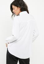 dailyfriday - Button through shirt with dip back