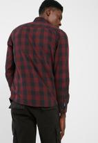 PRODUKT - Graham slim fit check shirt