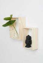 Sixth Floor - Rectangle shelves set of 2