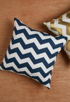 Sixth Floor - Chevron cushion cover