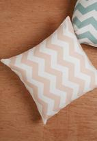 Sixth Floor - Chevron cushion cover - pink