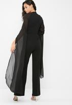 Missguided - Wide leg long sleeve jumpsuit