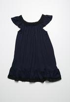 dailyfriday - Frill knit sundress