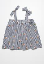 dailyfriday - Tie detail tunic top