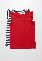 dailyfriday - 2-Pack frill vest