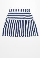 dailyfriday - Tiered knit skirt