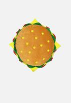 Typo - Get cushy cushion - hamburger