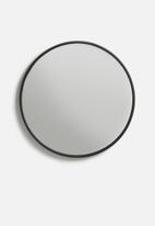 Sixth Floor - Iron round mirror - medium 50cm dia
