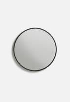 Sixth Floor - Iron round mirror - small 35cm dia