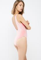 Missguided - Velvet swimsuit