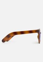 dailyfriday - Round plastic sunglass with mirror