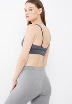 Missguided - Active mesh contrast v crop top