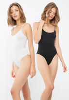 dailyfriday - Cami strap 2 pack bodysuit