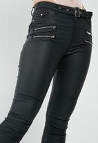 Missguided - Sinner coated jeans