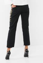 Missguided - Wrath baroque floral mom jeans