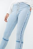 Missguided - Anarchy mid rise skinny jeans