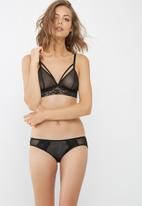 dailyfriday - Lais strappy mesh lace trim bralette