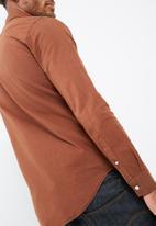 basicthread - Plain slim oxford shirt