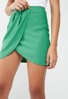Missguided - Wrap mini skirt
