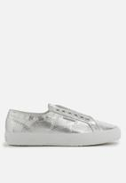 SUPERGA - 2750 Distressed metallic leather