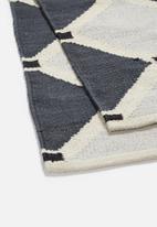 Sixth Floor - Tumeric diamond rug