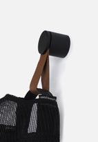 Smart Shelf - Leather wall hooks