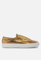 SUPERGA - 2751 Distressed Metallic Leather