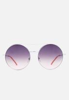 Missguided - Round gradiant lenses sunglasses