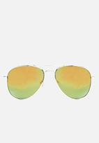 basicthread - Tinted aviator sunglasses