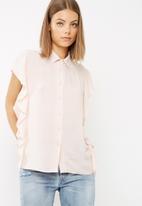 dailyfriday - Frill down shirt