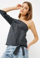 dailyfriday - One shoulder blouse
